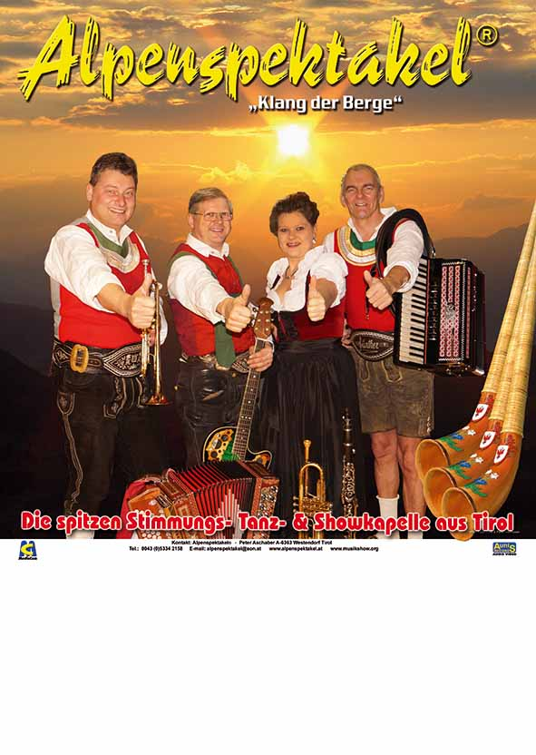 Alpenspektakel No Smoking Deutsch